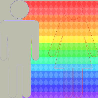 男性と女性で見える色数が違う
