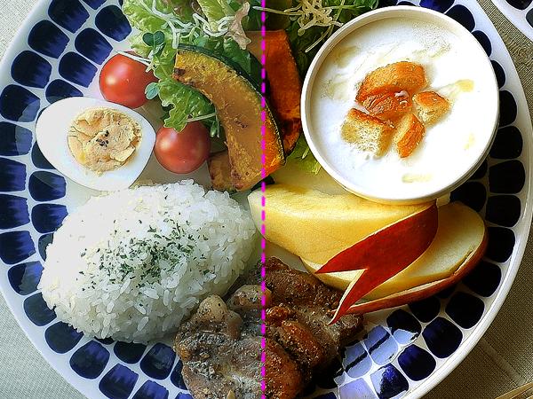 同じ料理でも光源が違うと受けるイメージが変わります