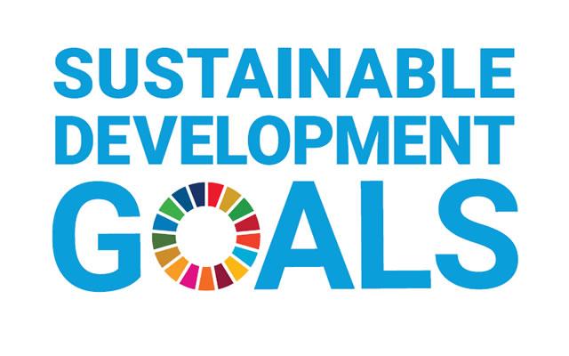 SDGSロゴ。CSRもあわせて取り組みを。